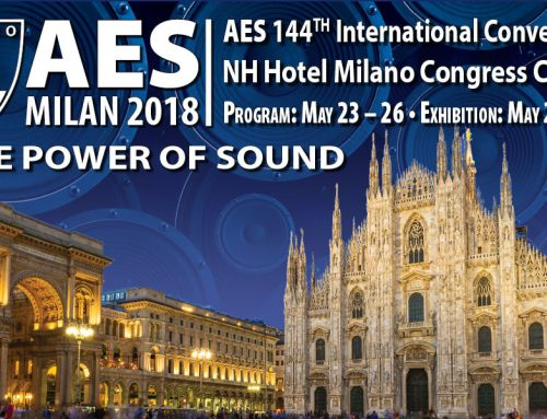 Contralto Audio exhibits @AES Milan 2018