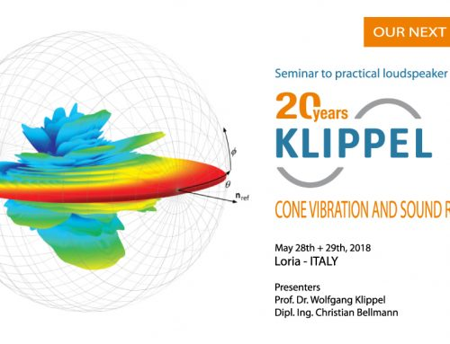 KLIPPEL Seminar: Cone Vibration & Sound Radiation