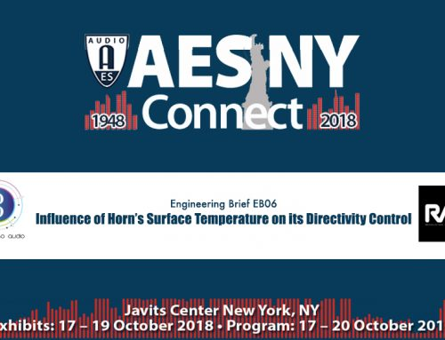 Engineering Brief @AES New York 2018  •  145th International Pro Audio Convention